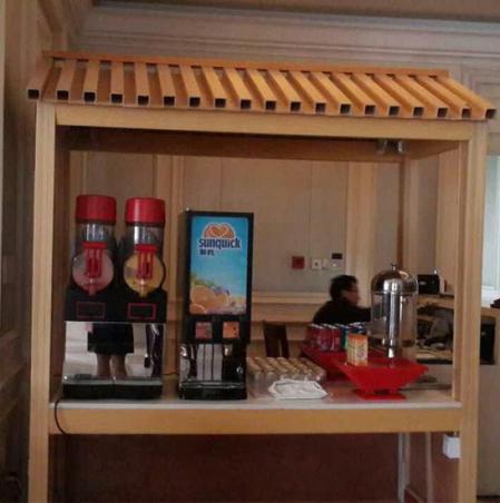 果汁机、雪融机在五星级酒店