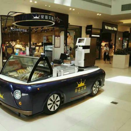 冰淇淋机3.0TT在饮品店