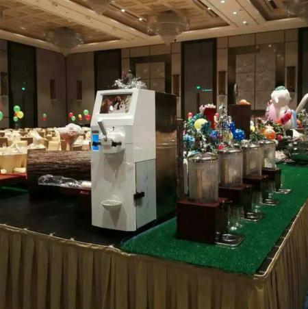 冰淇淋机3.0TT在酒店餐厅