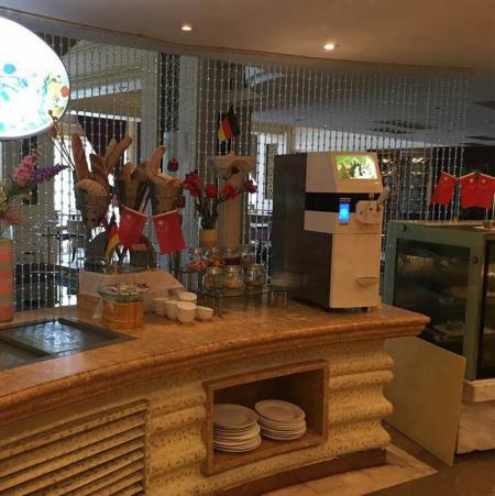 冰淇淋机在五星级酒店