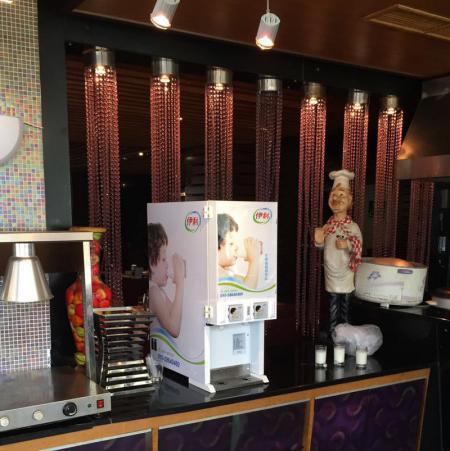 酸奶机在酒店餐厅