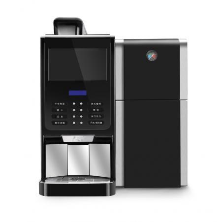 智能商用现磨咖啡机 金巴黎E2S鲜奶版
