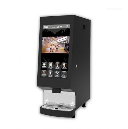 商用速溶型咖啡饮料机 凯迪拉克触摸屏